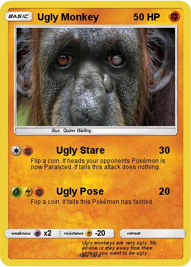 Pokemon Ugly Monkey