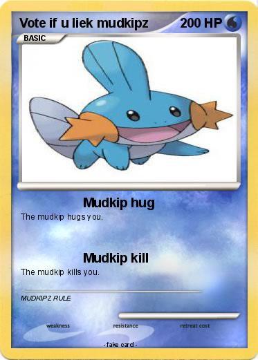 Pokemon Vote if u liek mudkipz