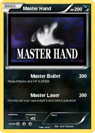 Pokemon Master Hand