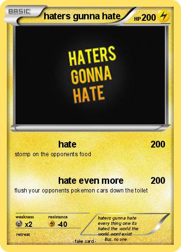 Pokemon haters gunna hate