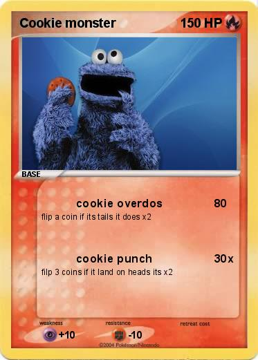 Pokemon Cookie monster