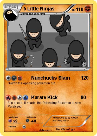 Pokemon 5 Little Ninjas
