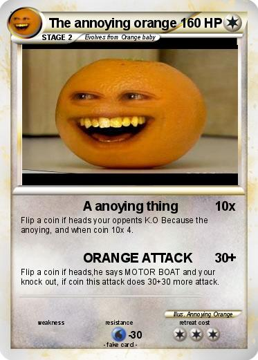 Pokemon The annoying orange