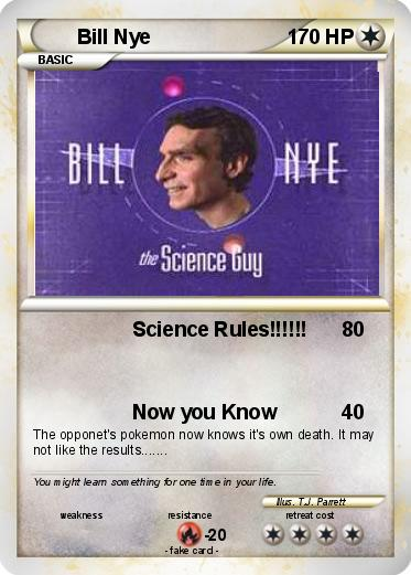 Pokemon Bill Nye