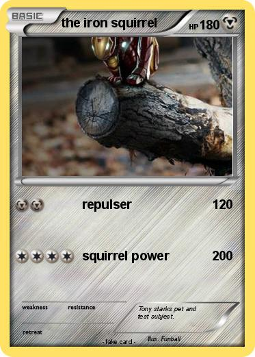 Pokemon the iron squirrel