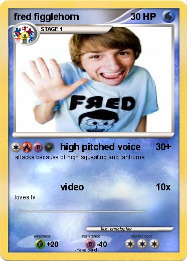 Pokemon fred figglehorn