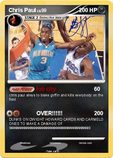 Pokemon Chris Paul