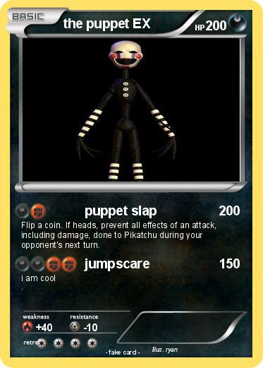 Pokemon the puppet EX