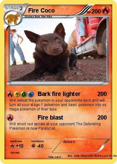 Pokemon Fire Coco