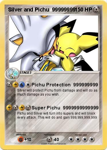 Pokemon Silver and Pichu  99999999