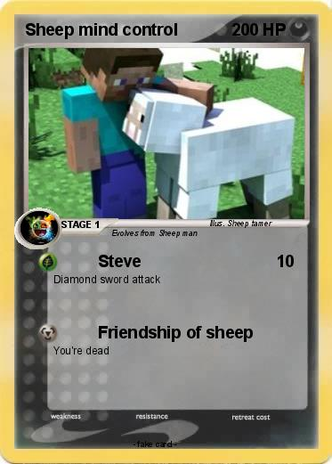 Pokemon Sheep mind control