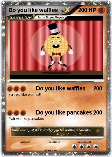 Pokemon Do you like waffles