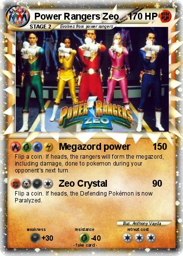 Pokemon Power Rangers Zeo