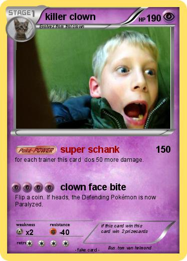 Pokemon killer clown