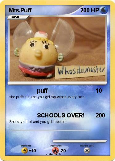 Pokemon Mrs.Puff