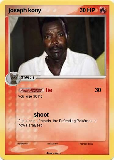 Pokemon joseph kony