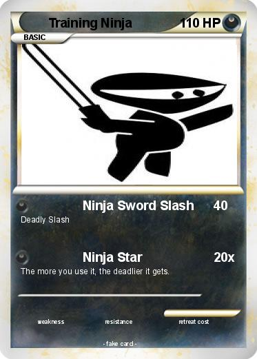 Pokemon Training Ninja