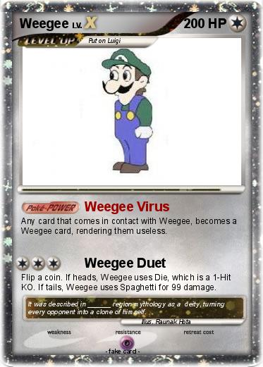 Pokemon Weegee