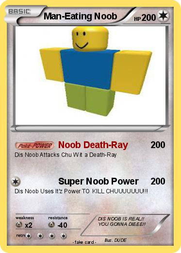 Pokemon Man-Eating Noob