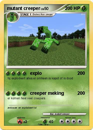 Pokemon mutant creeper
