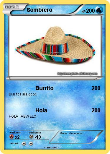 Pokemon Sombrero