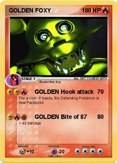 Pokemon GOLDEN FOXY