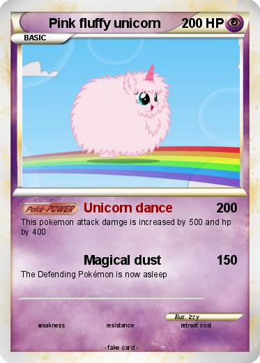 Pokemon Pink fluffy unicorn