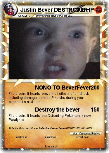 Pokemon Justin Bever DESTROYER