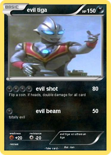 Pokemon evil tiga