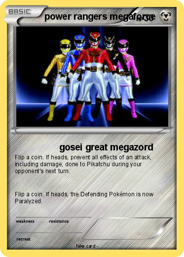 Pokemon power rangers megaforce