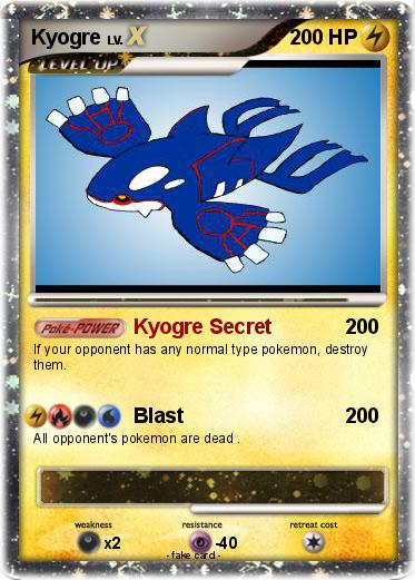 Pokemon Kyogre