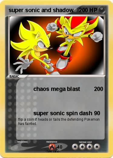 Pokemon super sonic and shadow