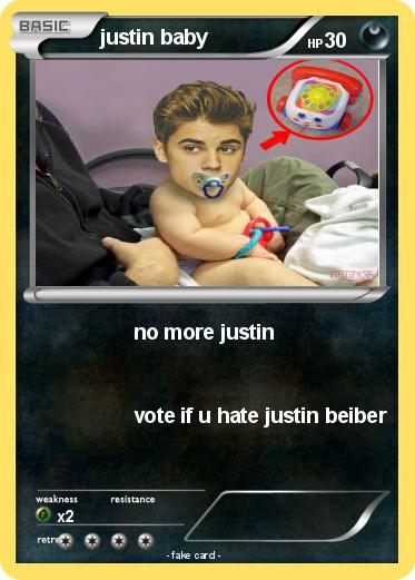Pokemon justin baby