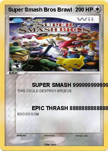 Pokemon Super Smash Bros Brawl