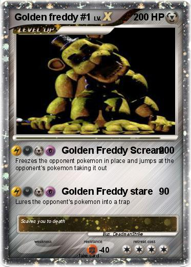 Pokemon Golden freddy #1