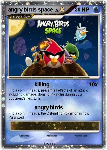 Pokemon angry birds space