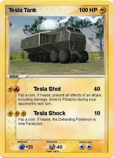 Pokemon Tesla Tank