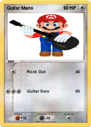 Pokemon Guitar Mario