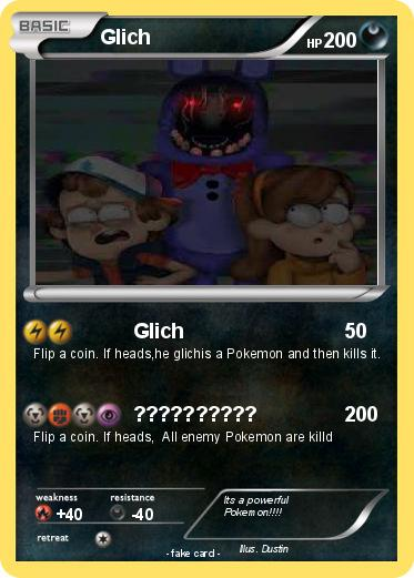 Pokemon Glich