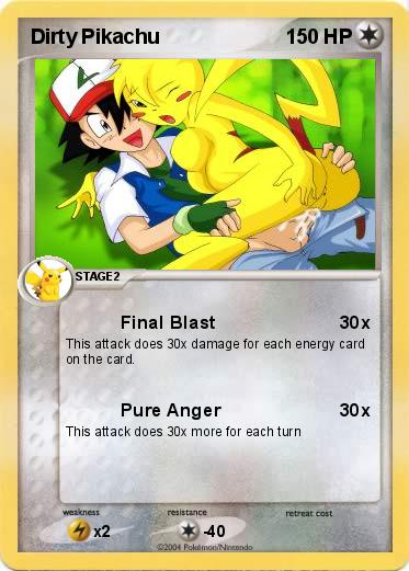 Pokemon Dirty Pikachu