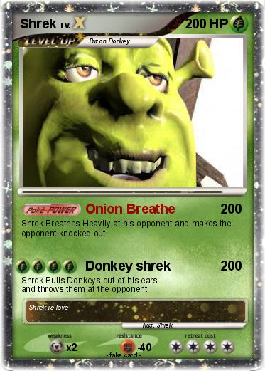Pokemon Shrek
