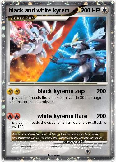 Pokemon black and white kyrem