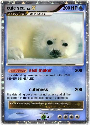 Pokemon cute seal
