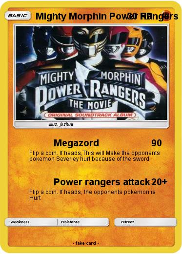 Pokemon Mighty Morphin Power Rangers