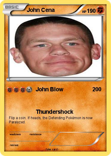 Pokemon John Cena