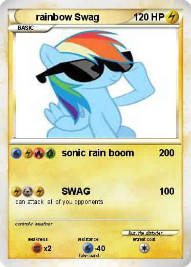 Pokemon rainbow Swag