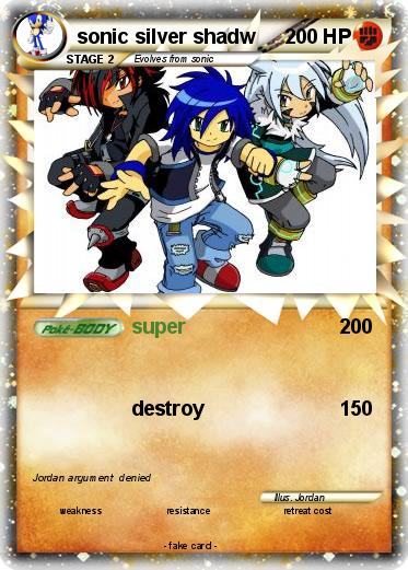 Pokemon sonic silver shadw
