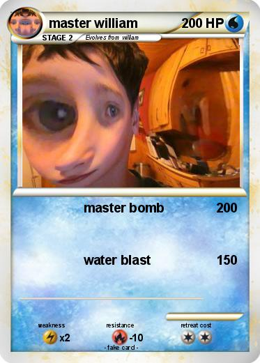 Pokemon master william