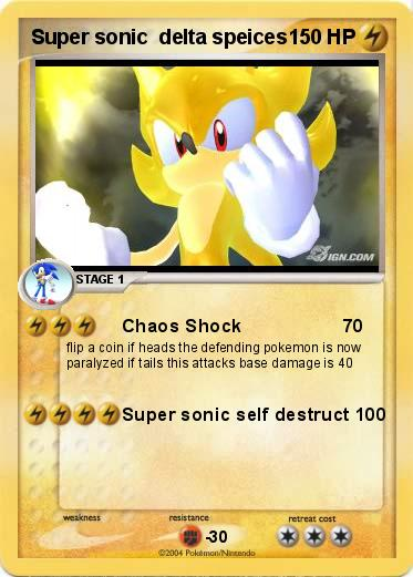 Pokemon Super sonic  delta speices