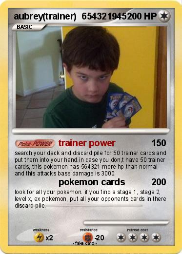 Pokemon aubrey(trainer)  654321945